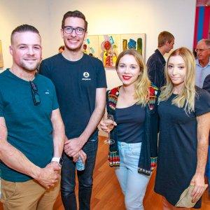Andrew Brown, Henry Wagner, Laura Maskrey & Charlotte Adderley