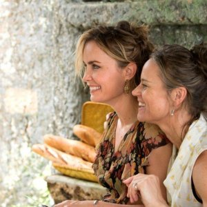 Radha Mitchell as Celeste and Nadine Garner as Grace