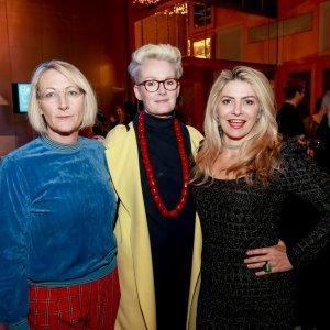 Caroline Gardam, Tarragh Cunningham and Bec Mac
