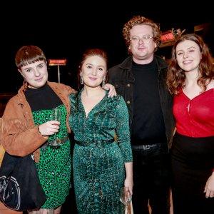 Georgia Brooker, Amy Ambrose, James Frostick & Georgia Attwell