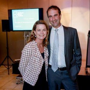 Jane O'Hara and Ben James