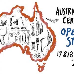 Australian Ceramics Open Studios banner